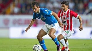 Apertura 2016 | Necaxa vs Cruz Azul (Resumen)