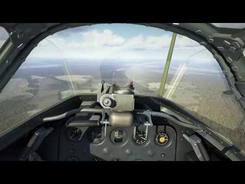 IL 2 Sturmovik Battle of Stalingrad 'Scramble' mission VR Cockpit view