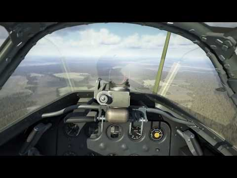 IL 2 Sturmovik Battle of Stalingrad 'Scramble' mission VR Cockpit view