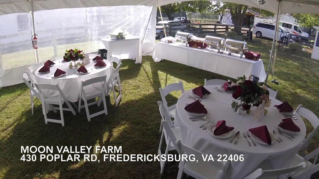 Wedding Venue Tour Moon Valley Farm Fredericksburg Va Youtube