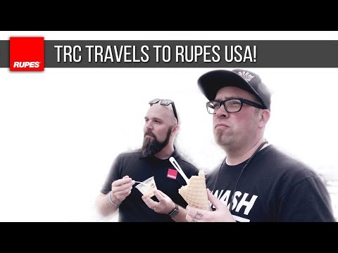 The Rag Company's Week @ RUPES USA | DETAILING TRAVELS