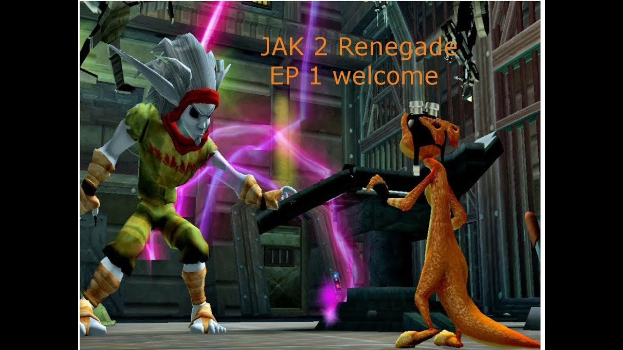 Jak 2 Renegade Episode One Welcome And Enjoy Jak Ps2 Classic On Ps4