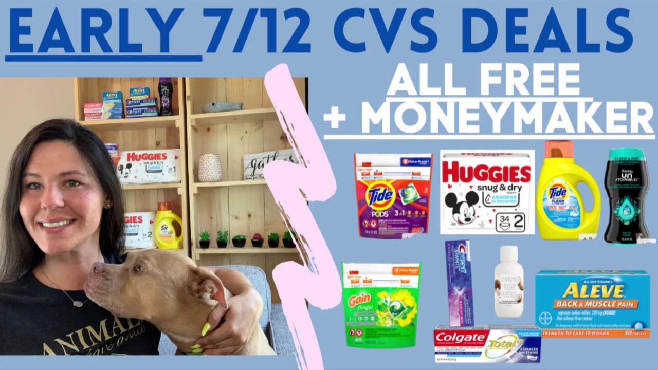 😁EARLY 7/12 CVS Deals 😇 7/12 - 7/18 CVS Couponing This Week 👍 7 MUST DO CVS DEALS + CVS Scenarios