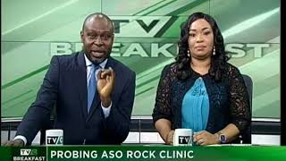 TVC Breakfast 17th October 2017 | Probing Aso Rock Clinic