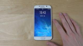 Samsung Galaxy S6 iOS 8 Lock Screen Theme - Review! (4K)