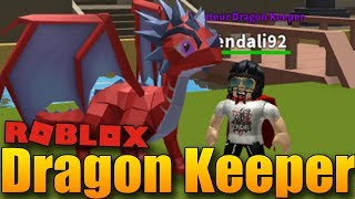 I have my own DRAGON! 😱😍 | ROBLOX: Dragon Keeper