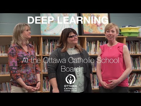 Deep Learning at the Ottawa Catholic School Board