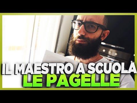 IL MAESTRO A SCUOLA - LE PAGELLE