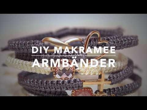 Makramee Armband DIY Anleitung & Technik