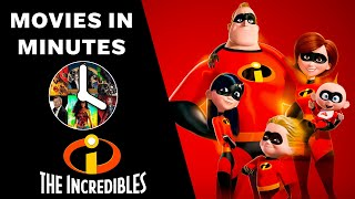 The Incredibles in 4 minutes (Movie Recap)