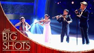Reuben de Maid Little Stars Perform Beauty and the Beast Little Big Shots