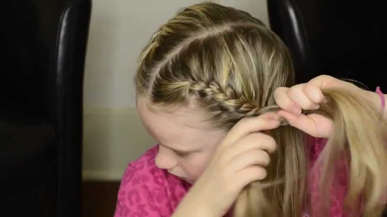 How to french braid your own hair into pigtails youtube how to french braid your own hair into pigtails solutioingenieria Gallery