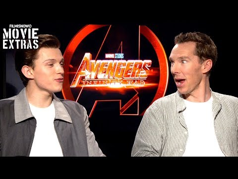 AVENGERS: INFINITY WAR | Benedict Cumberbatch & Tom Holland talk about the movie