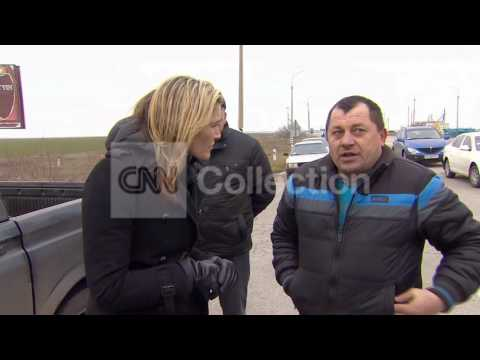 "UKRAINE: CRIMEA'S NEW ""BORDER"""