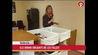 2012 Canal 9. Departamento de Objetos Perdidos en la Policía Local de Valencia