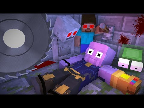 Monster School : KILL EVIL THANOS CHALLENGE - RIP Minecraft Animation
