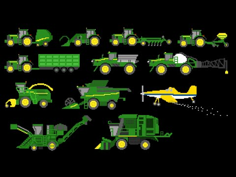 Farm Vehicles - The Kids' Picture Show (Fun & Educational Learning Video)