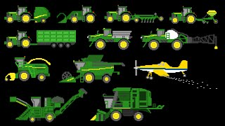 Farm Vehicles - The Kids' Picture Show (Fun & Educational Learning Video) thumbnail