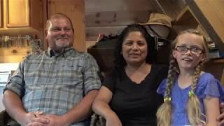 Familia Adventista usada por Dios para entrenar a familias a vivir en el campo.
