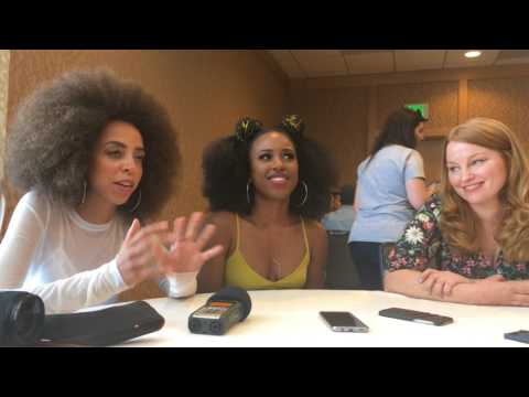 Hayley Law, Asha Bromfield & Sarah Schechter -  Riverdale