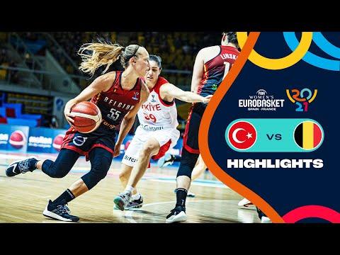 Turkey - Belgium | Highlights - FIBA Women's EuroBasket 2021