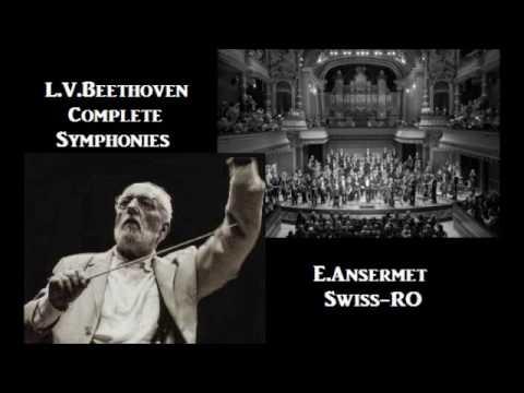 L.V.Beethoven Complete Symphonies [ E.Ansermet Swiss-RO ] (1958--63)