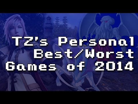 TZ's personal Best and Worst games of 2014