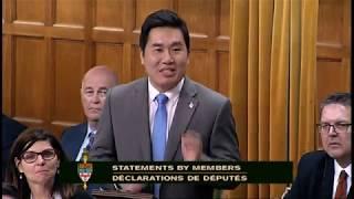MP Shaun Chen - Statement on National Family Caregiver Award Recipient Julia Chan - Jun 20, 2017