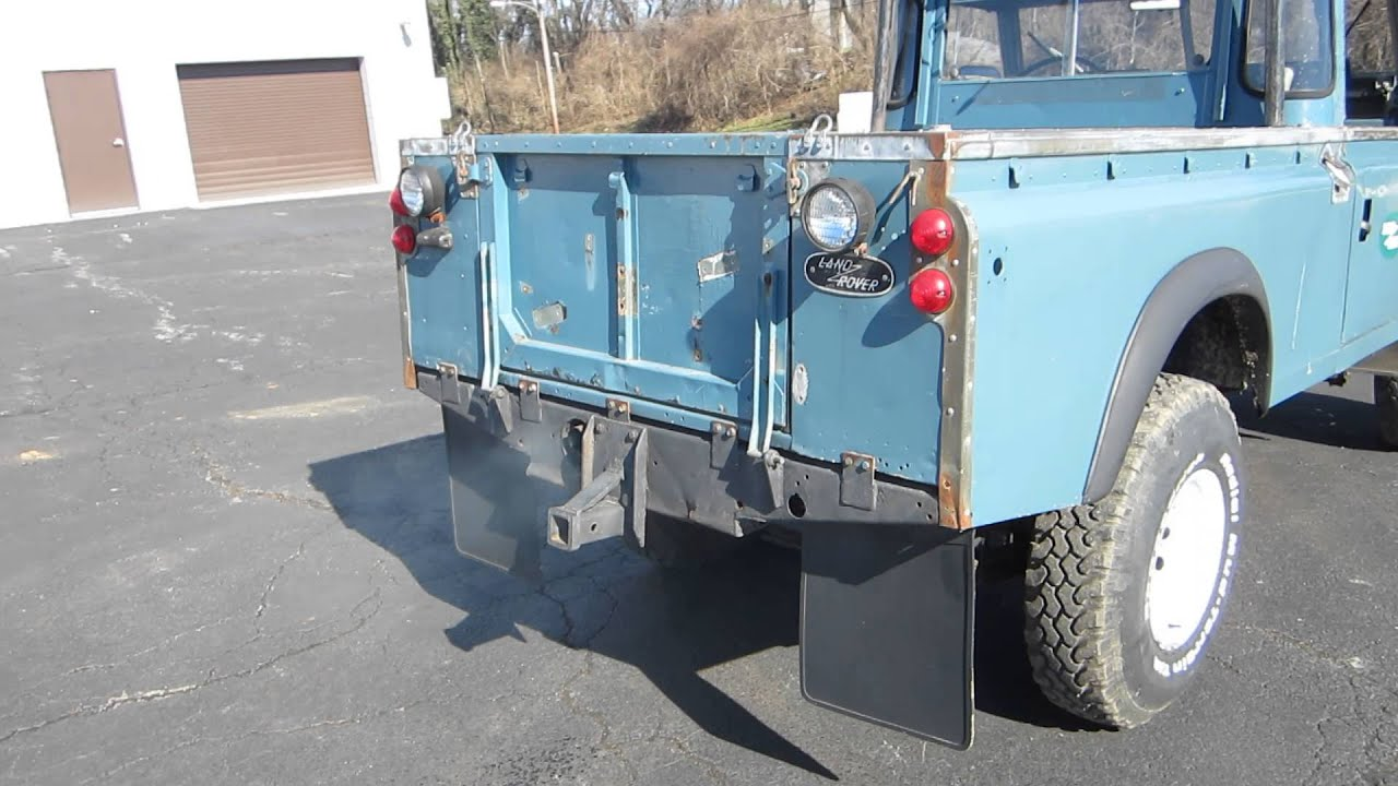 RARE 1966 LAND ROVER DEFENDER SERIES IIA PICK UP 4X4 SOLD