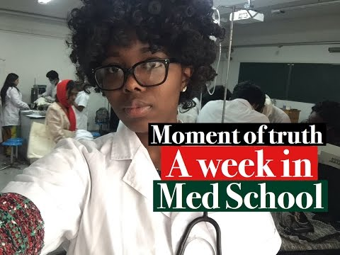A Week in the life of a 3rd year MEDICAL STUDENT IN CHINA 2017-  Medical school Vlog 7