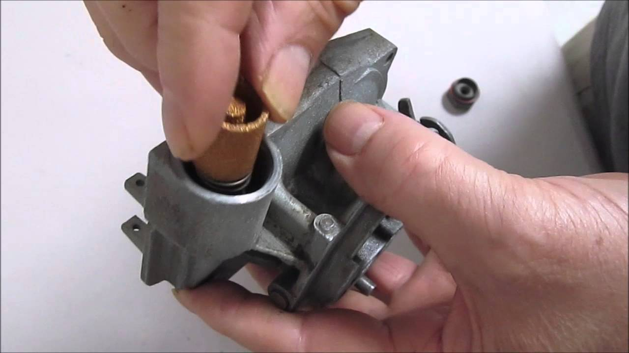 Rochester 1 Barrel Fuel Filter Install - YouTubeYouTube