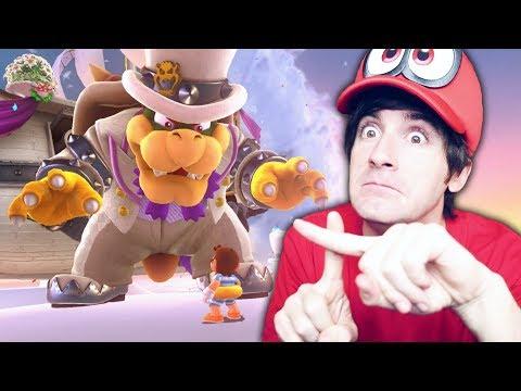 BOWSER ESTA AQUI! Super Mario Odyssey #5