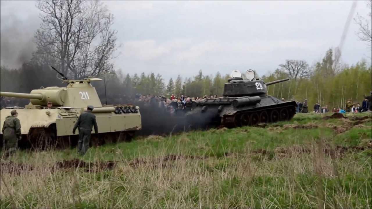 Download Kamienna Góra - Bitwa Czołgów - Wyciąganie Pantery