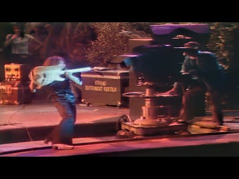 Deep Purple  The Infamous Ritchie Blackmore Incident At The 1974 California Jam in 60FPS