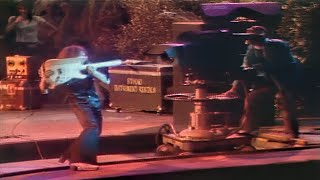Deep Purple - The Infamous Ritchie Blackmore Incident At The 1974 California Jam in 60FPS