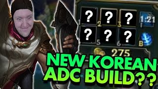 THE NEW KOREAN ADC BUILD IS OP??? - League of Legends Commentary