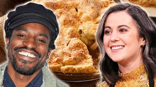 Which Celebrity Makes The Best Apple Pie? • Celebrity Recipe Royale