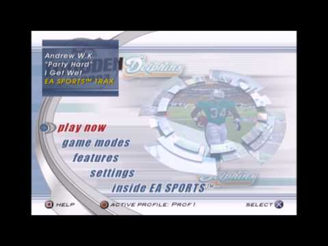 Andrew WK  Party Hard Madden NFL 2003 Edition