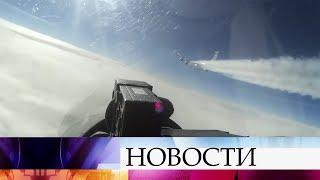 Истребитель дежурных сил ПВО был поднят по тревоге для перехвата иностранного самолета.