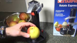 StarFrit Rotate Express Fruit Potatoes Vegetables Automatic Peeler review