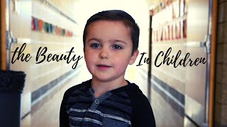 TELLING KIDS THAT THEY'RE BEAUTIFUL!