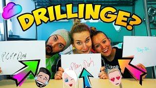 SIND WIR DRILLINGE? Nina, Kathi, Kaan in der Triplets Telepathy Challenge! Wir sind Geschwister?