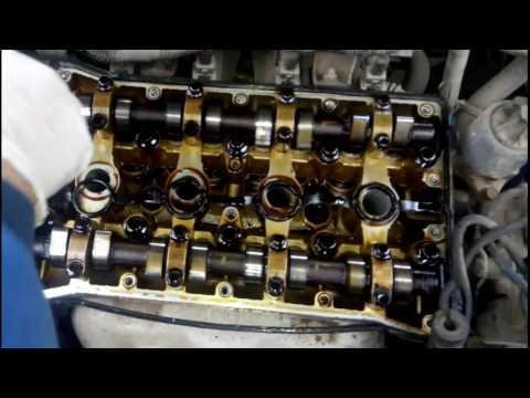 Шевроле Лачетти течёт масло через прокладку клапанной крышки/замена прокладки клапанной крышки