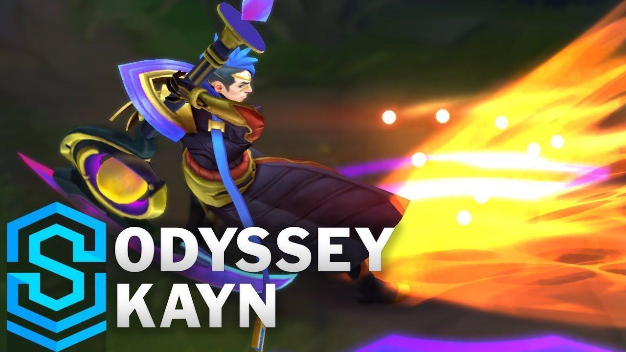 Odyssey Kayn Skin Spotlight - League of Legends