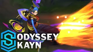 Odyssey Kayn Skin Spotlight - League of Legends
