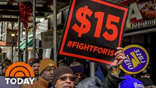 $15 Minimum Wage Will Not Be Included In Biden's COVID-19 Relief Bill | TODAY