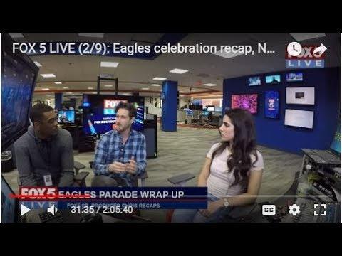 FOX 5 LIVE: Eagles celebration recap, National Pizza Day; week of LOVE starts tomorrow