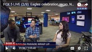 FOX 5 LIVE (2/9): Eagles celebration recap, National Pizza Day; week of LOVE starts next week!