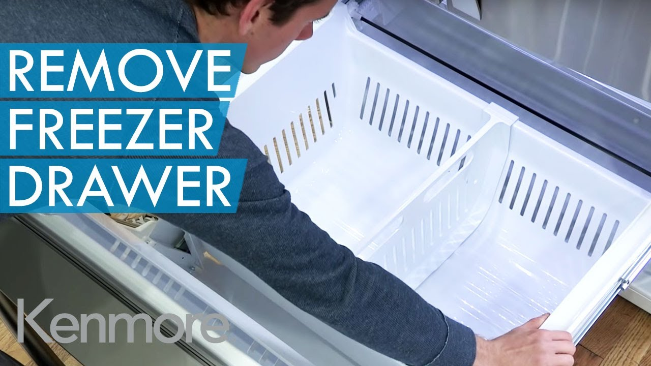 How To Remove Freezer Drawer Kenmore Grab N Go