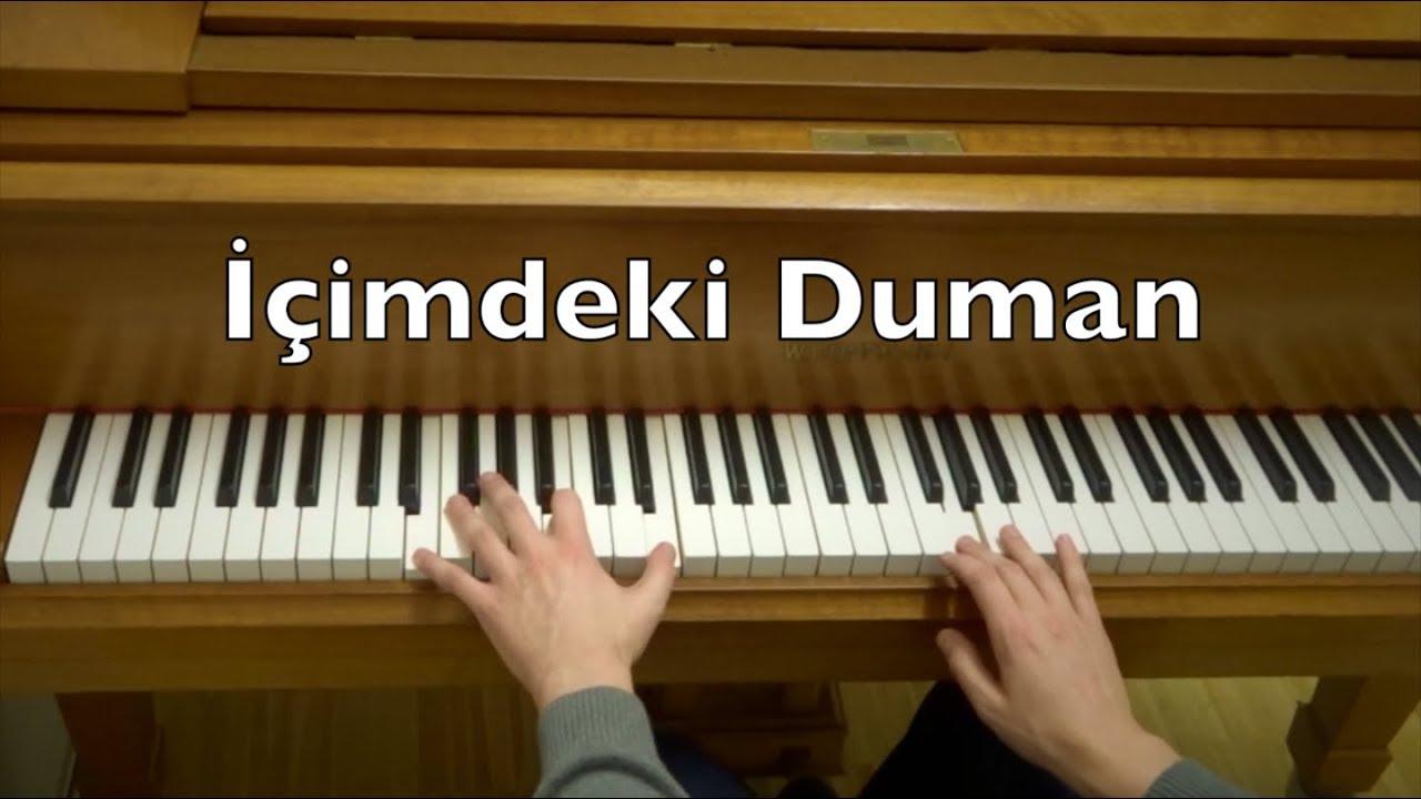 Icimdeki Duman Piano Tutorial Ilyas Yalcintas Chords Chordify